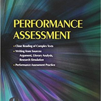 Collections: Performance Assessment Student Edition Grade 8 1st Edition