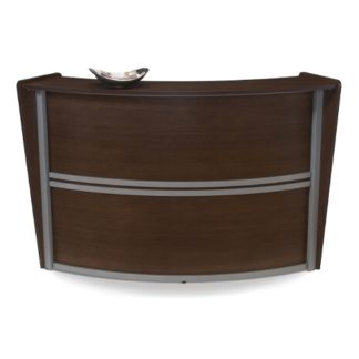 Model 55290 Single-Unit Marque Reception Station, Walnut