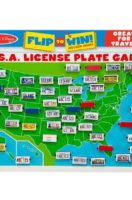 Melissa & Doug: U.S.A. License Plate Game Travel Game