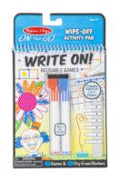 Melissa & Doug: On the Go – Write-On / Wipe-Off Activity Games Pad