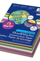 SUNWORKS® CONSTRUCTION PAPER SMART-STACK™ 300 Sheets Assorted Colors
