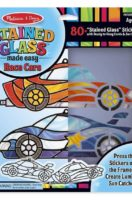 Melissa & Doug: Stained Glass Made Easy – Race Cars